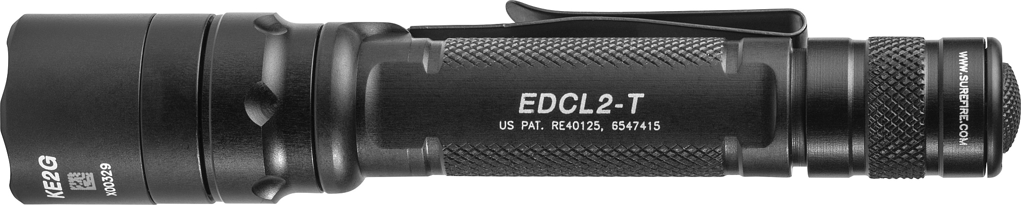 SureFire EDCL2-T delivers 1,200 lumens of white LED light