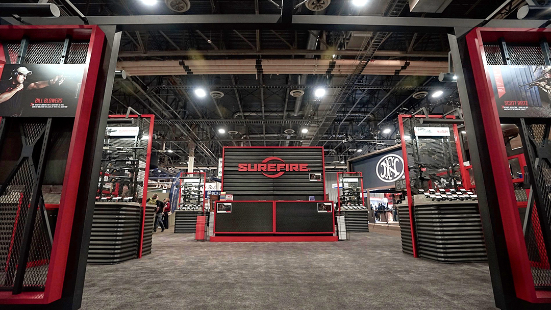 SureFire booth at SHOT Show 2019