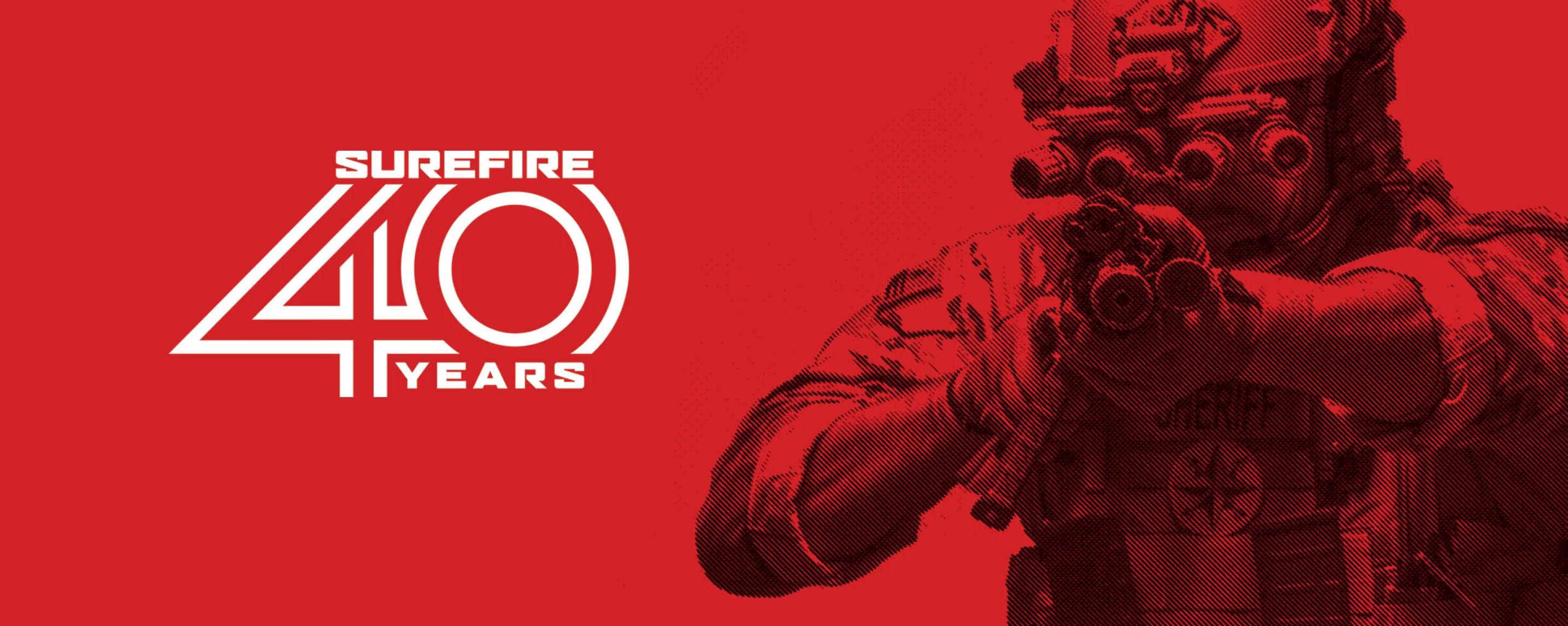 SureFire Celebrates 40th Anniversary