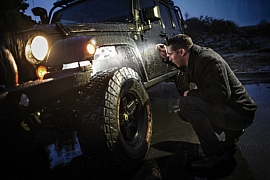 SureFire Titan keychain flashlight troubleshooting Jeep