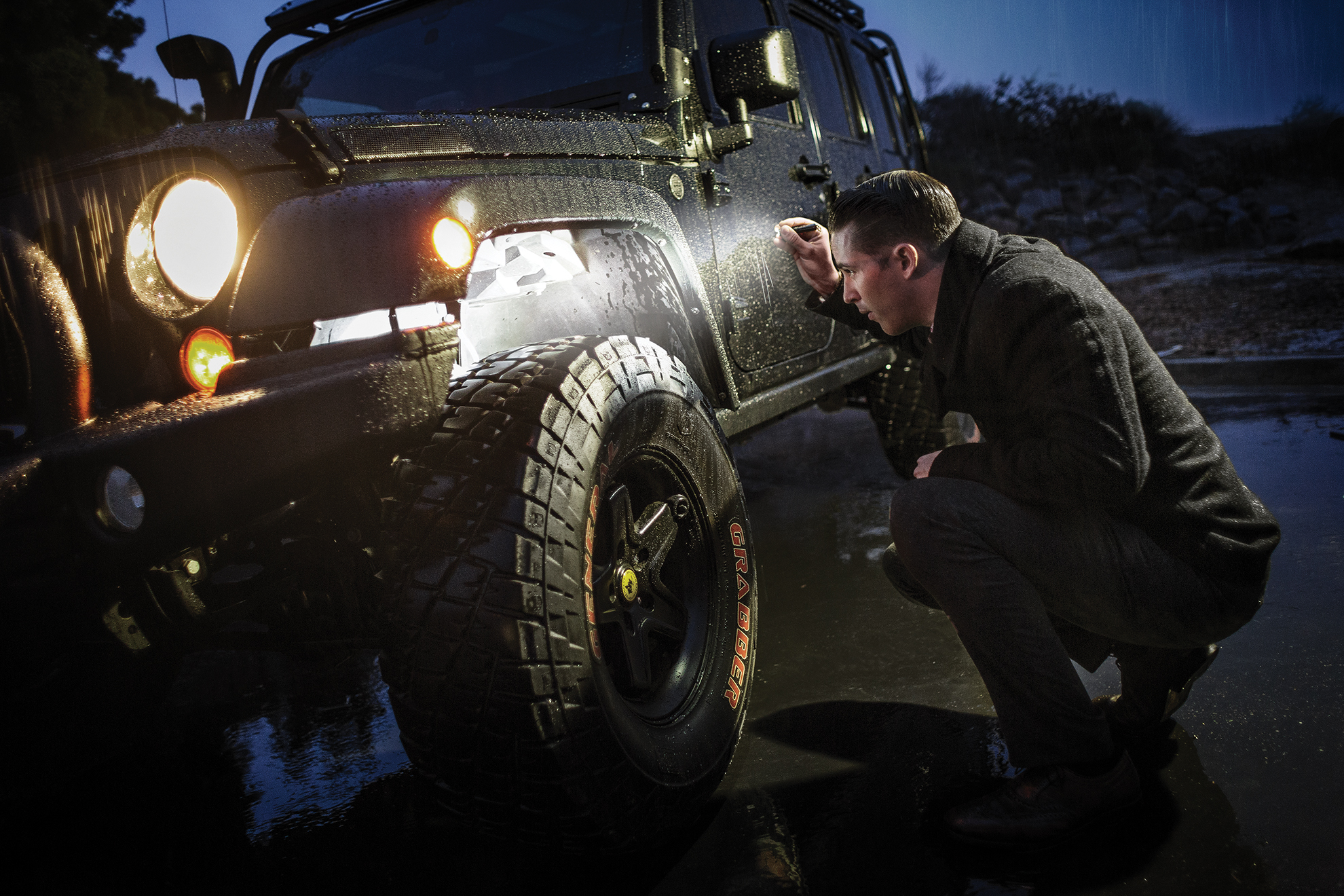 SureFire Titan keychain flashlight troubleshooting Jeep