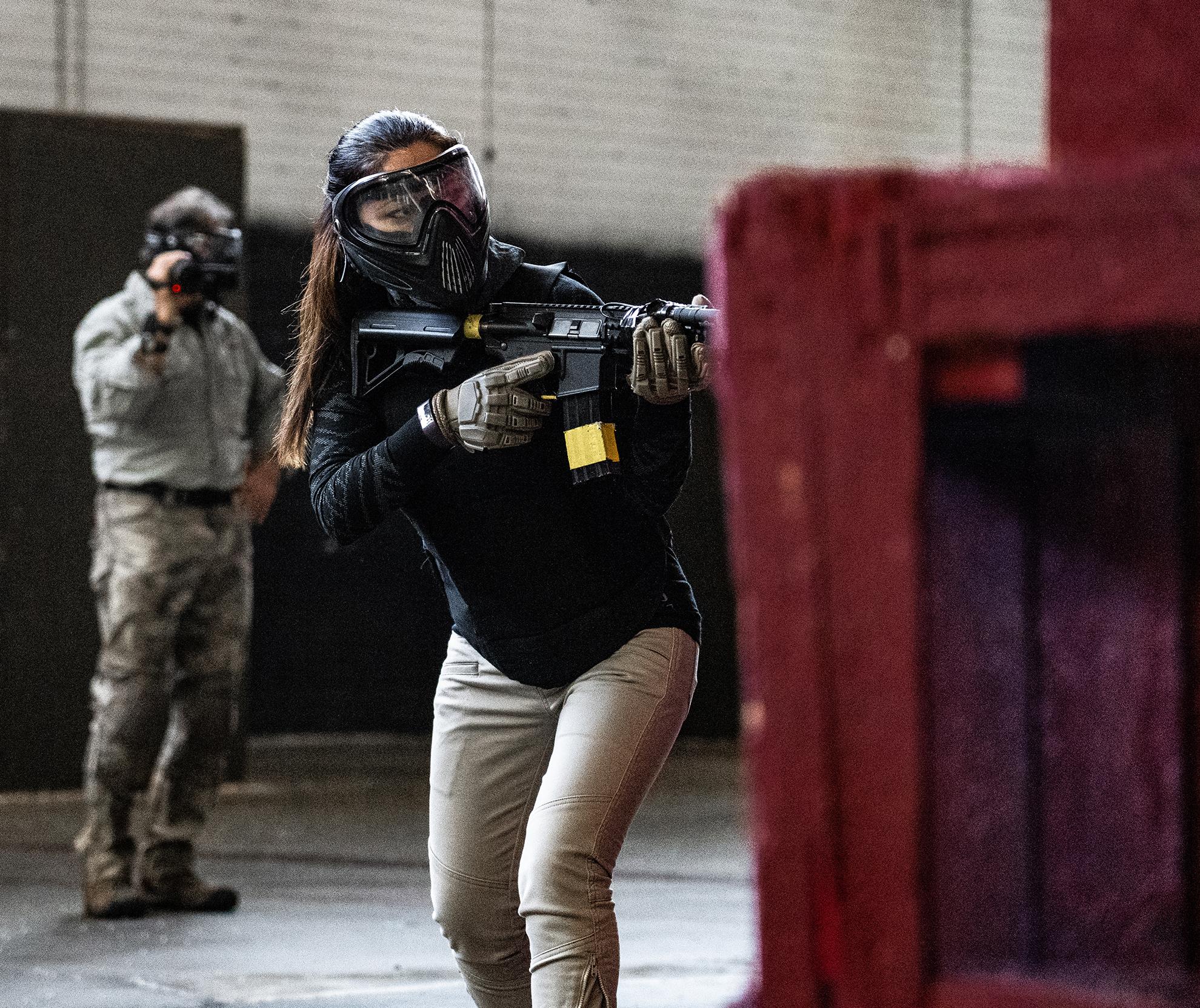 Warfighter Academy Female Student