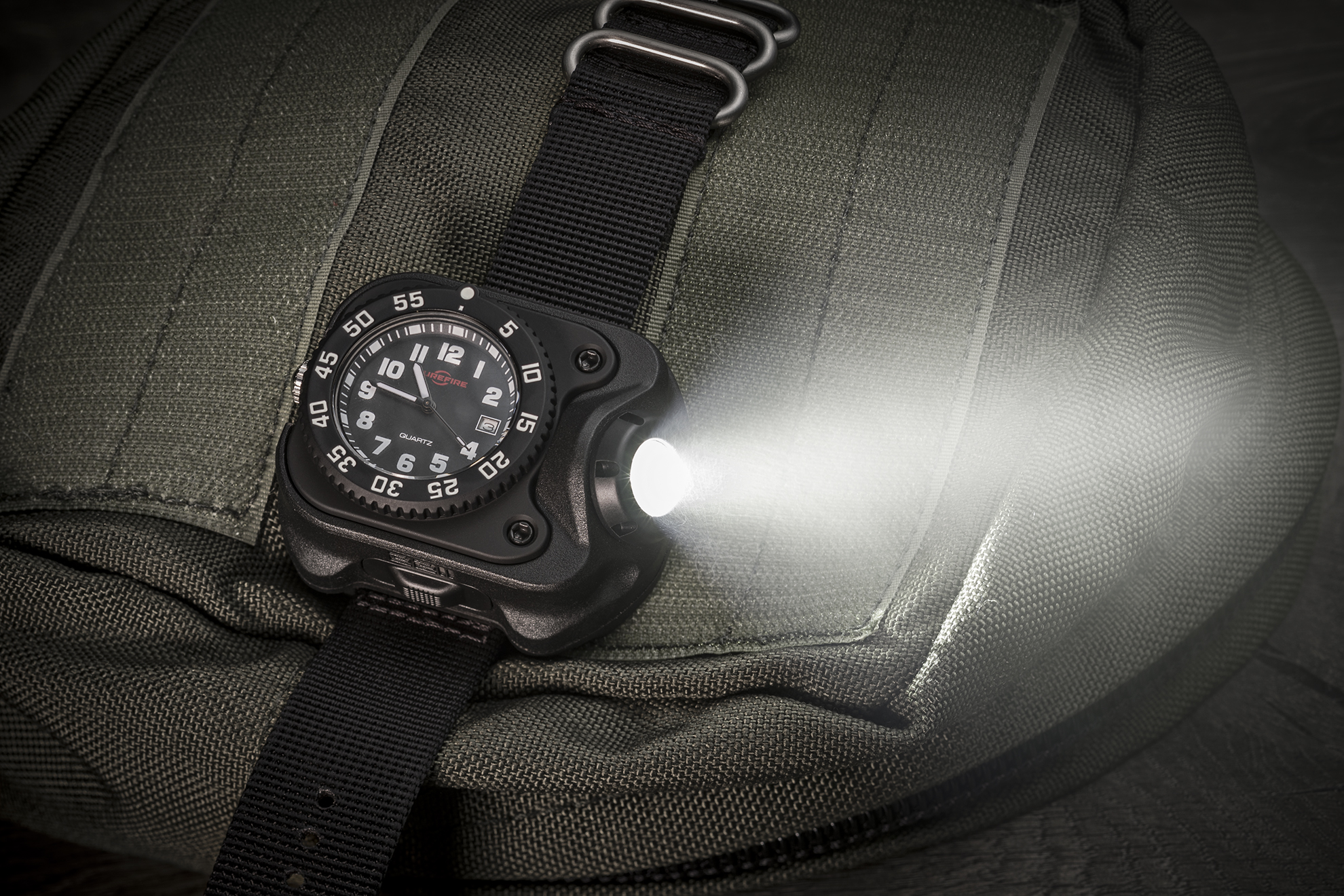 SureFire 2211 Standard WristLight with watch