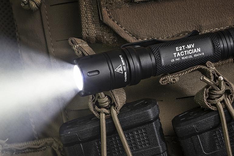 SureFire E2T0MV-Tactician with MaxVision Beam