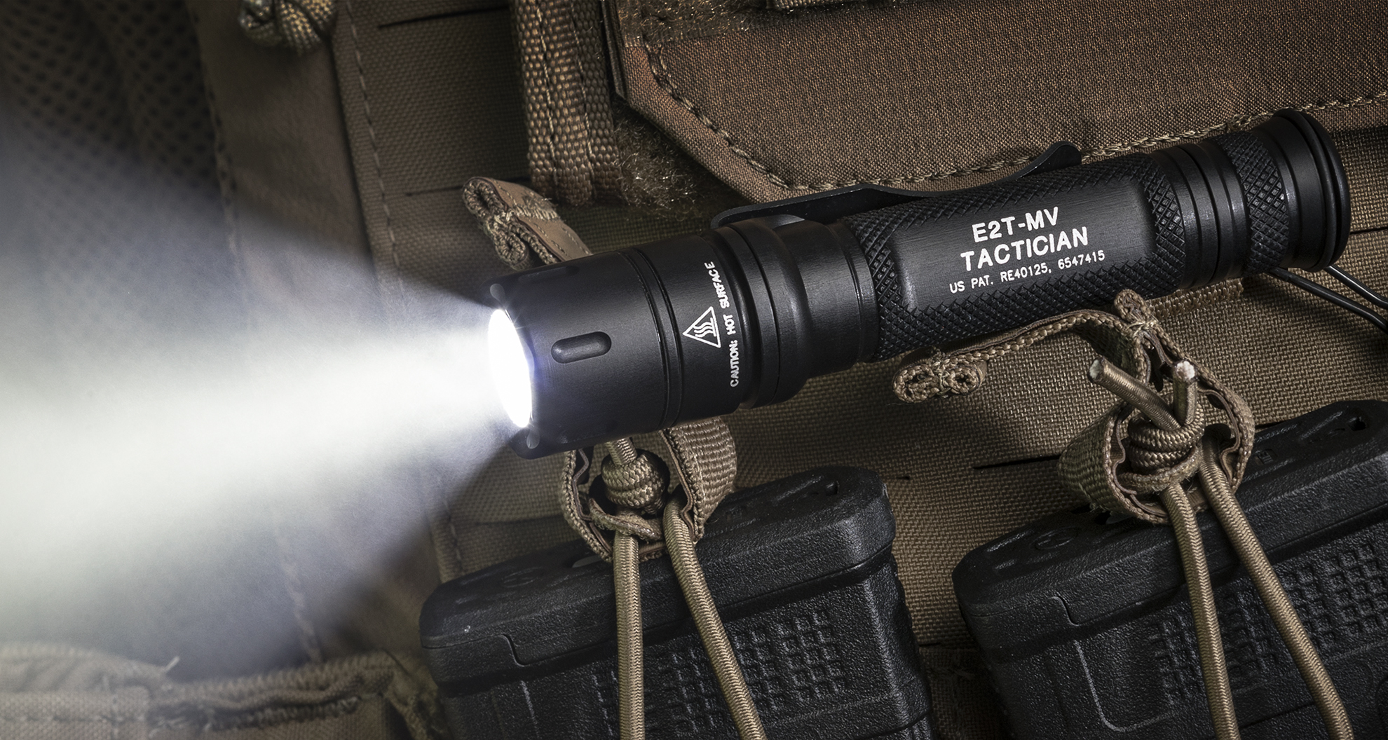 SureFire E2T0MV-Tactician with MaxVision Beam