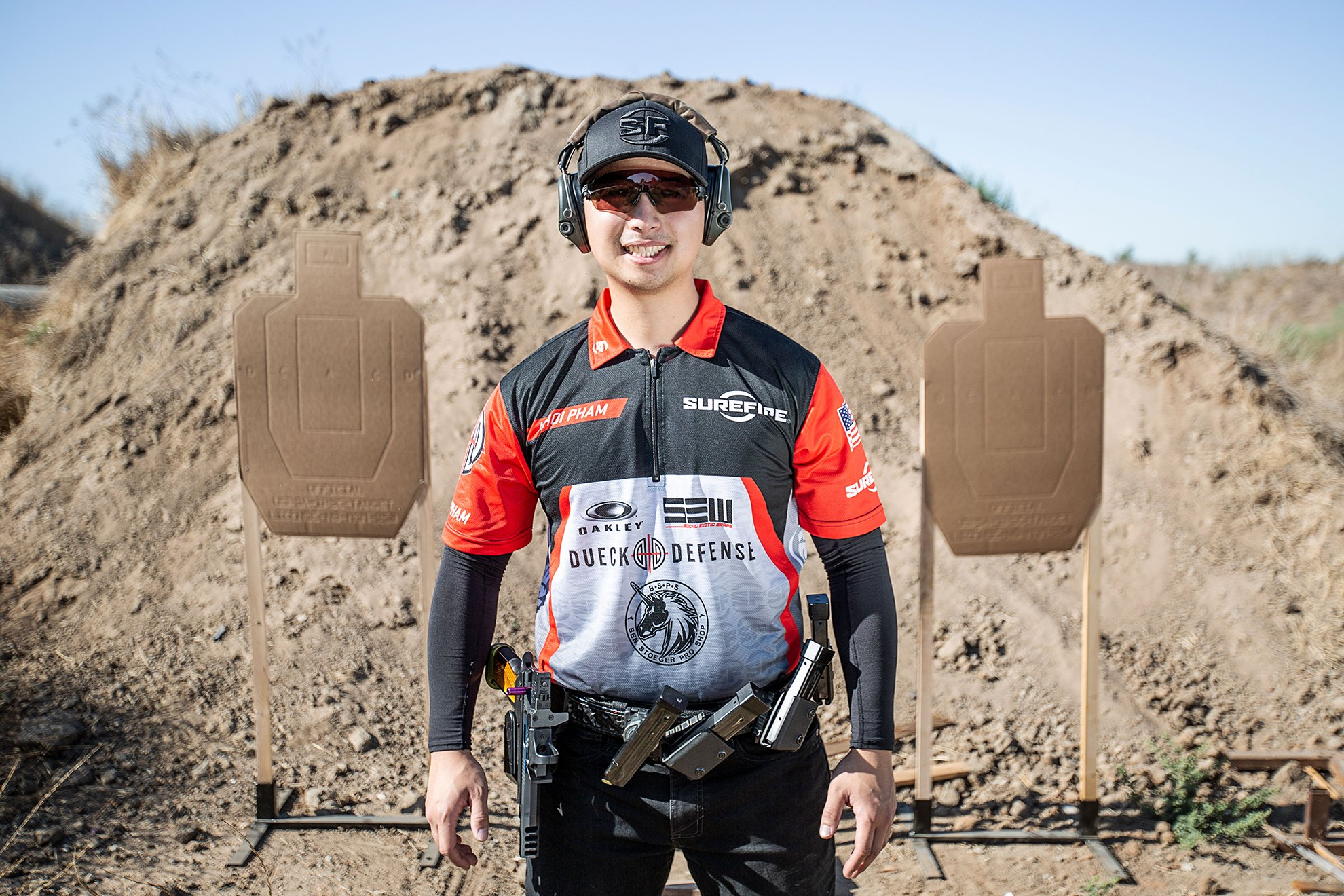 Khoi Pham is a member of Team SureFire
