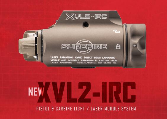 New SureFire XVL2-IRC WeaponLight