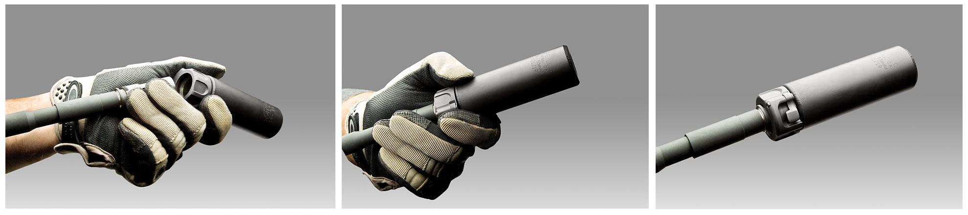 SureFire Fast-Attach suppressor