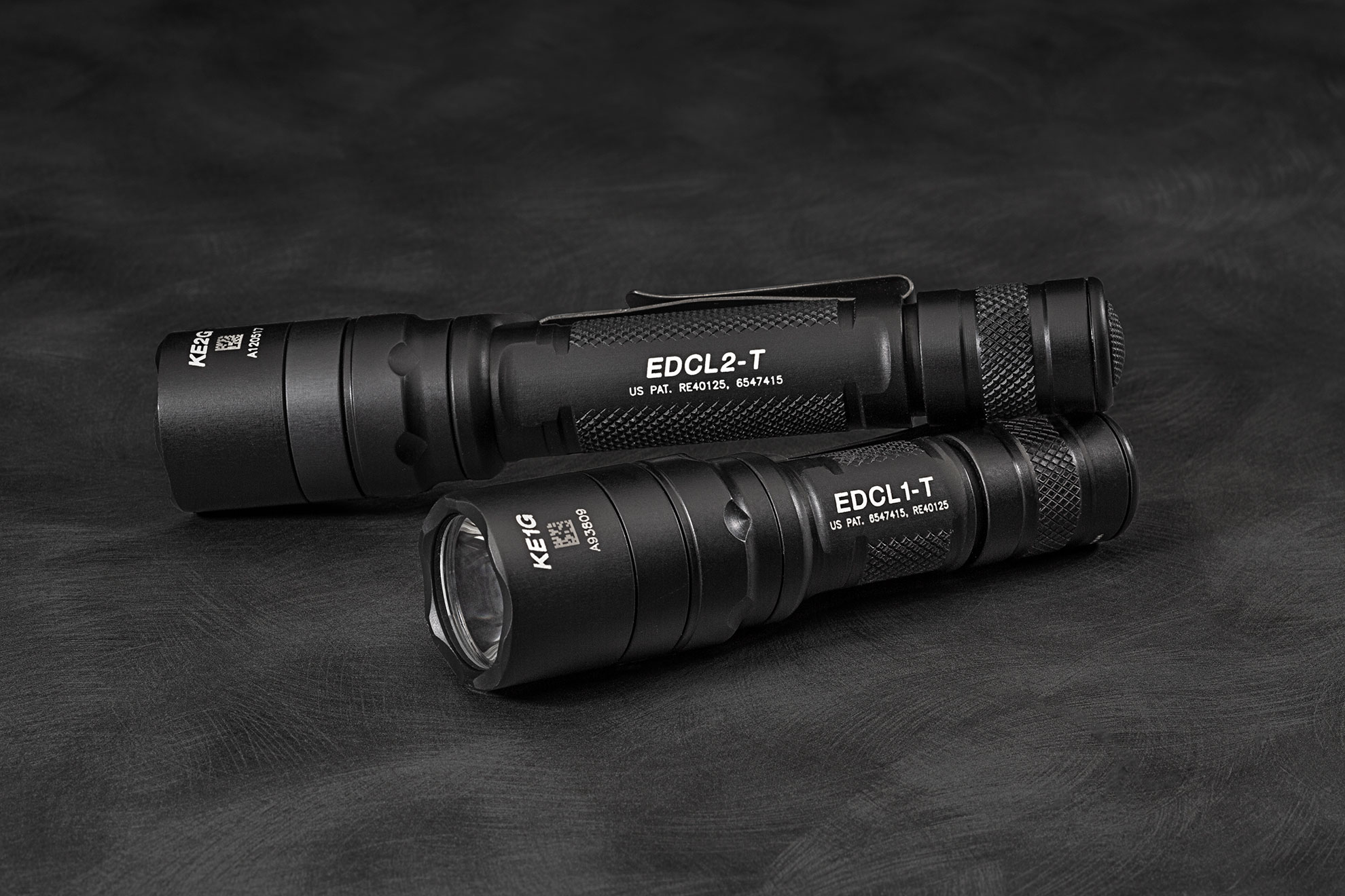 SureFire EDCL1-T_and_EDCL2-T flashlights
