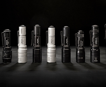 SureFire EDC flashlights history