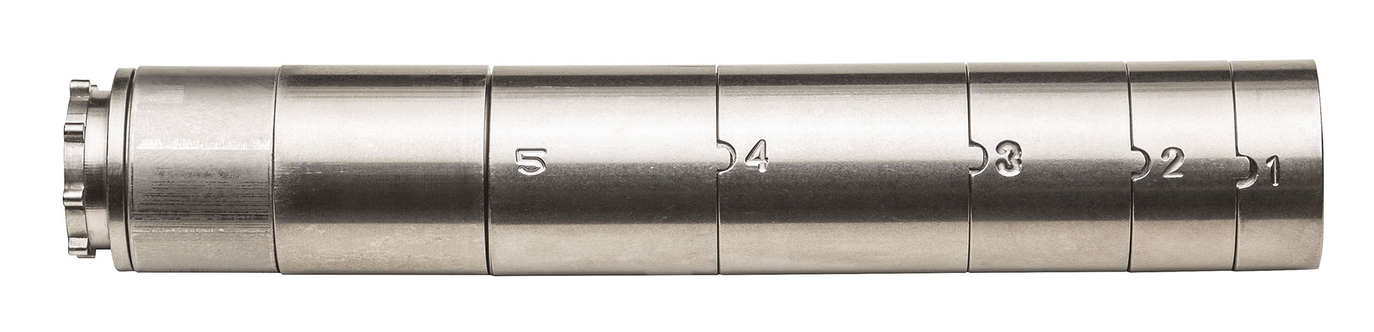 SureFire SF RYDER 22-S numbers indexed and baffled