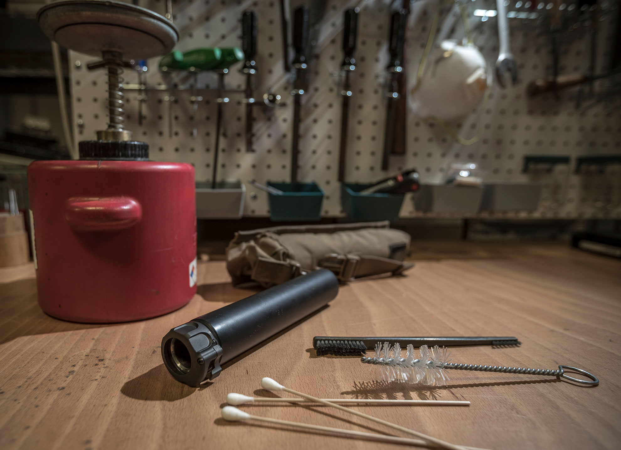 SureFire Suppressor Cleaning and Maintenance
