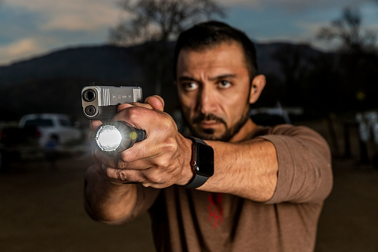 SureFire CombatLights were designed and engineered for use with the Rogers-SureFire grip technique while providing the rugged dependability and versatility of all SureFire handheld tactical illumination tools.