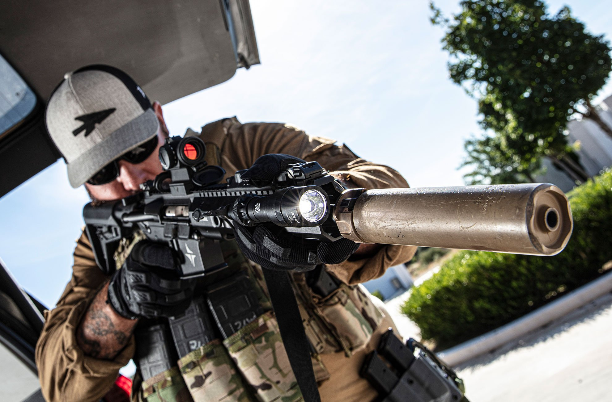 SureFire-equipped operator doing day work