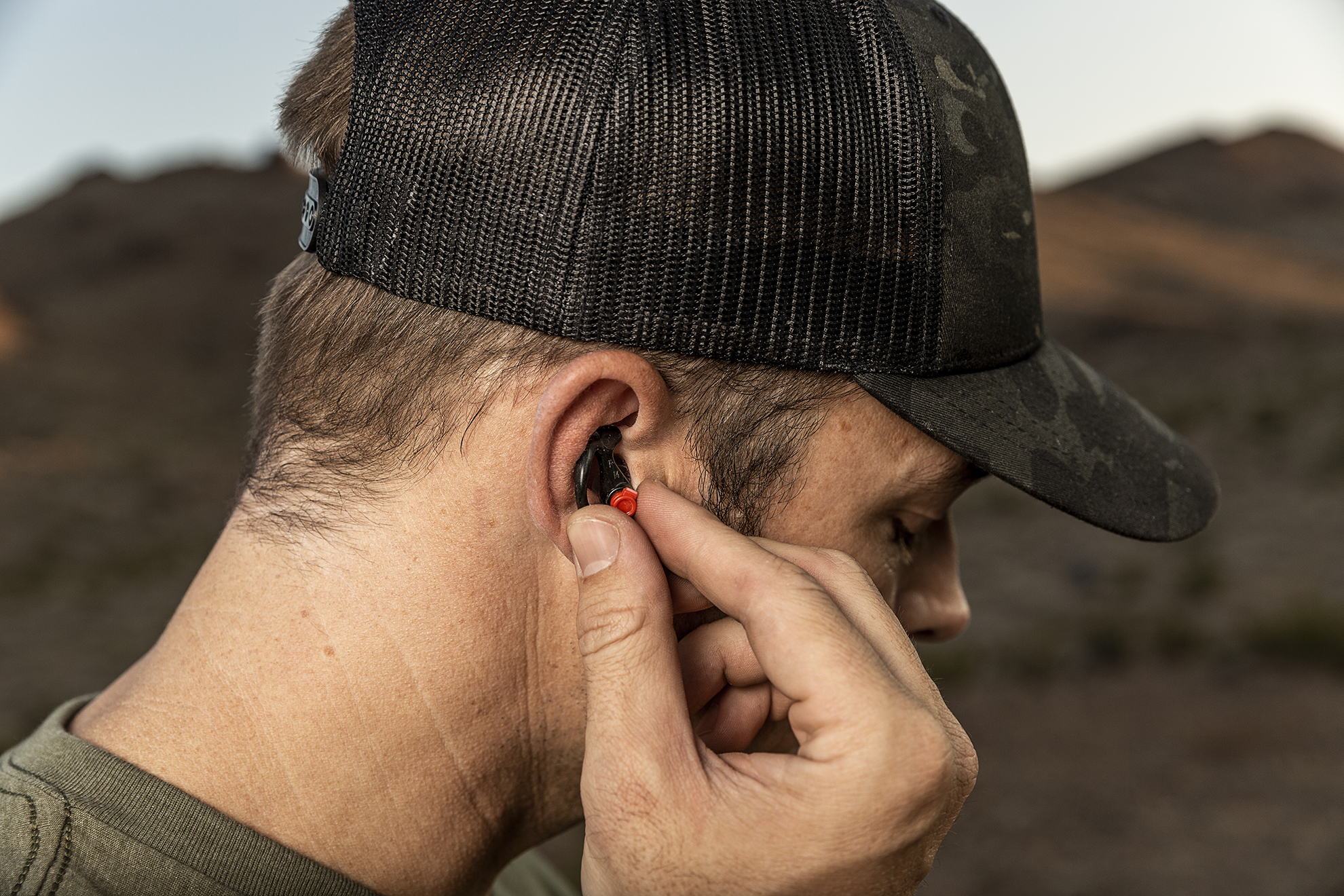 SureFire EarPro features patented EarLock design