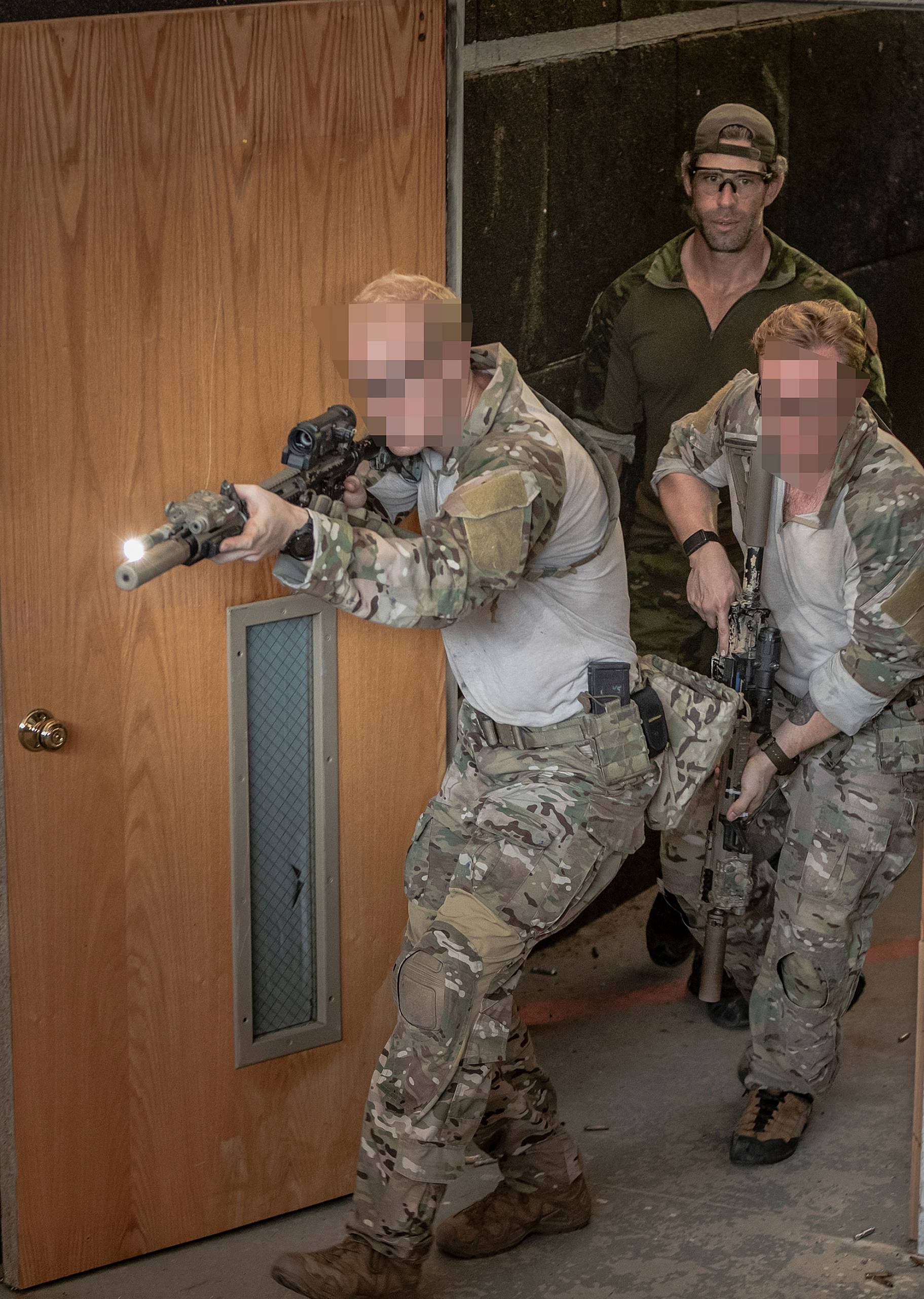 SOF students train at Northern Red