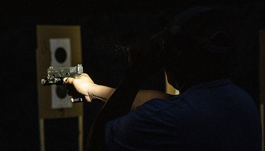 SureFire Low Light Handgun Training With Bill BlowersTap-Rack Tactical explains the finer points of low light shooting