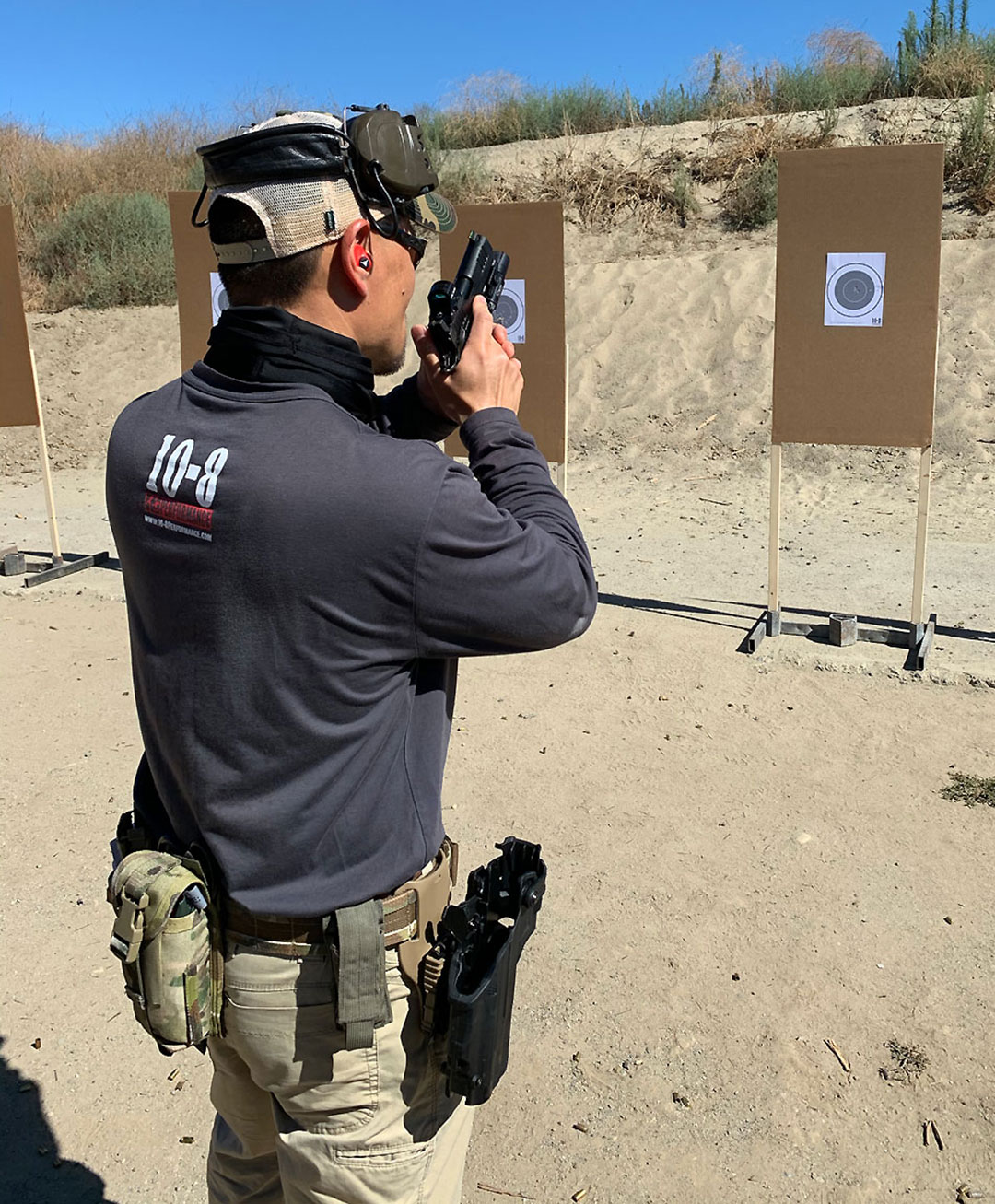Hilton Yam of 10-Performance Red Dot Course