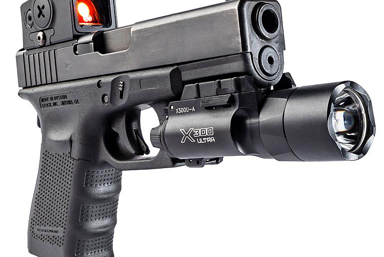 SureFire X300 on Glock