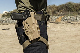 New SureFire MasterFire Pro Rapid Deploy Holster