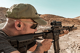 SureFire EarPro with Full-Block ear technology