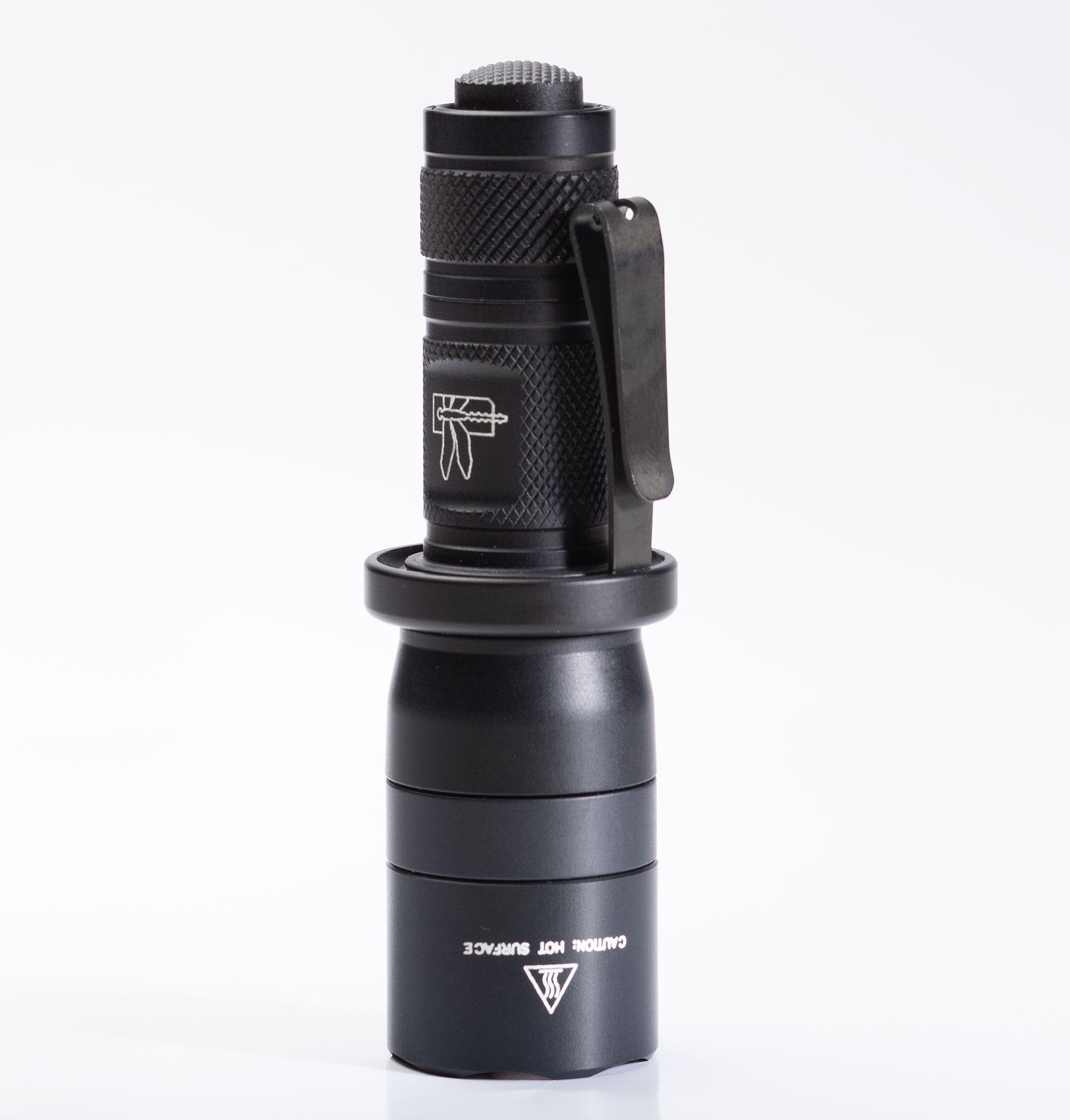 Haley Strategic SureFire D3FT Light is a combat flashlight