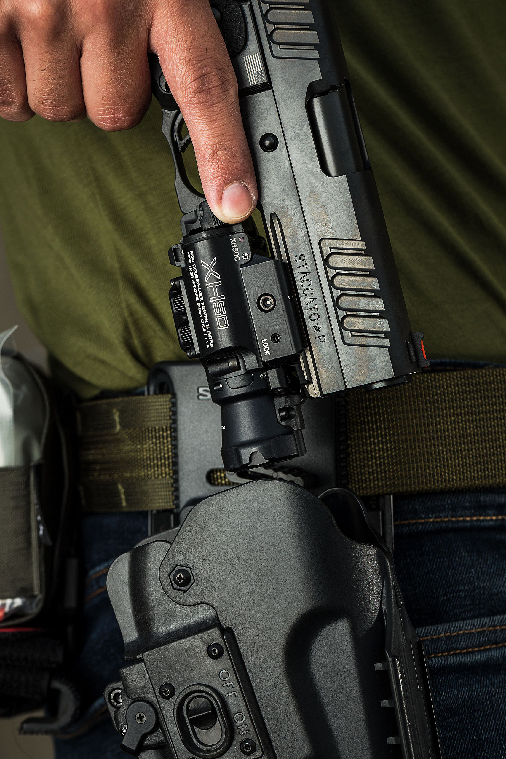 SureFire XH50 in MasterFire Pro holster