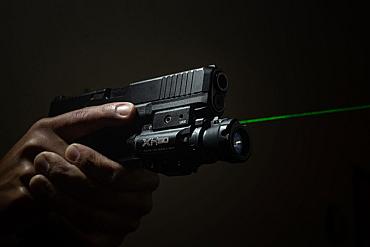 SureFire XH50 high-vis green laser