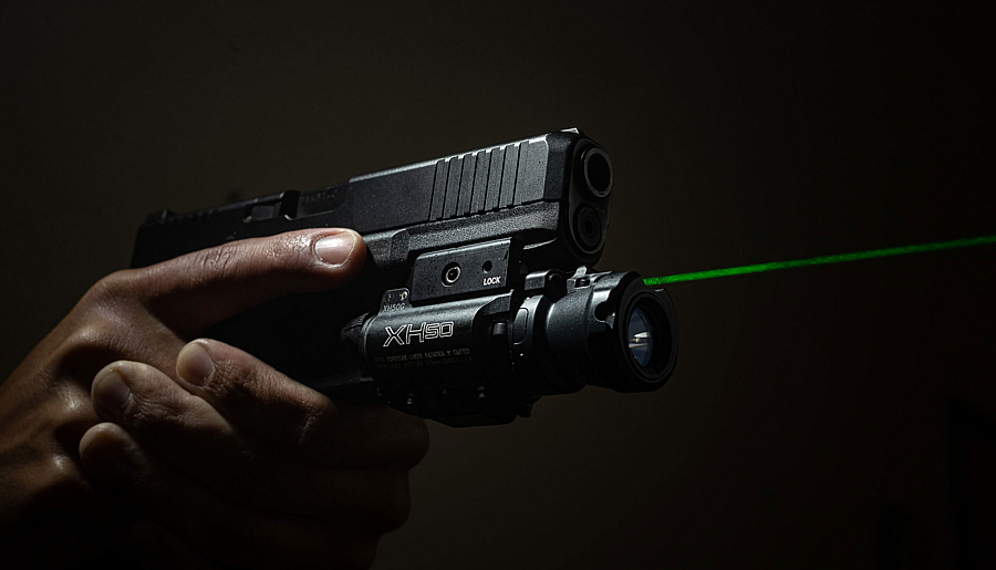 New! SureFire XH50 WeaponLight850 lumens w/reduced offset high-vis laser
