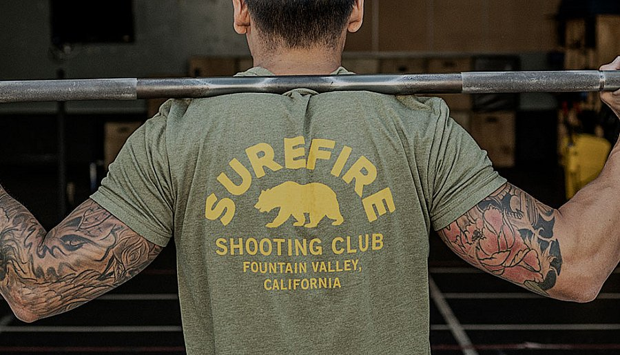 New SureFire ApparelTees and hats for every occasion